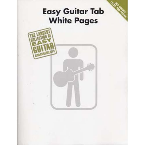 HAL LEONARD WHITE PAGES - EASY GUITAR TAB
