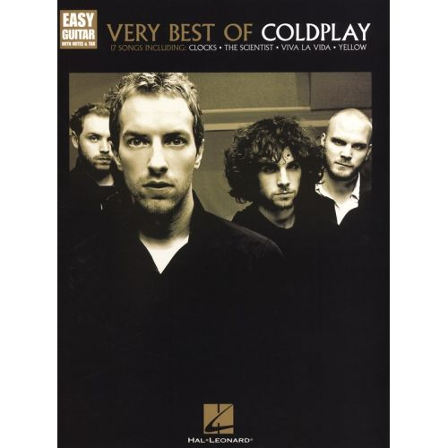 HAL LEONARD COLDPLAY VERY BEST OF EASY - GUITAR TAB