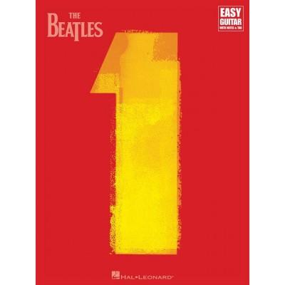 HAL LEONARD THE BEATLES - 1 - EASY GUITAR TAB