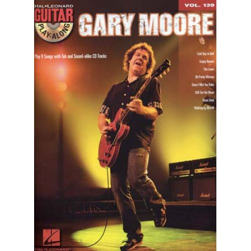 HAL LEONARD MOORE GARY - GUITAR PLAY ALONG VOL.139 + MP3