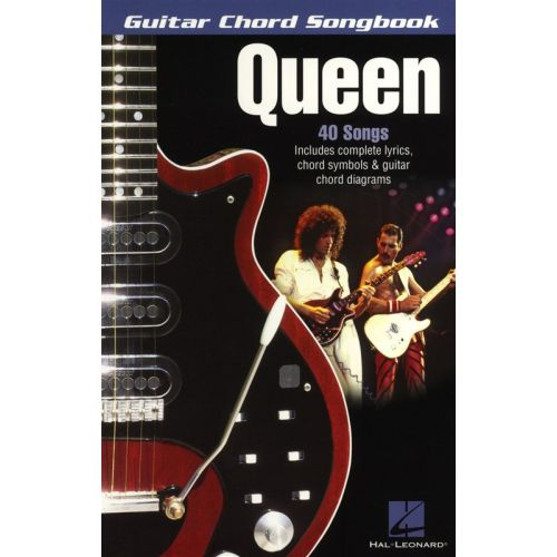 HAL LEONARD QUEEN - GUITAR CHORD SONGBOOK - LYRICS AND CHORDS