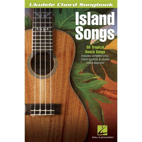 Hal Leonard Ukulele Chord Songbook Island Songs Ukulele
