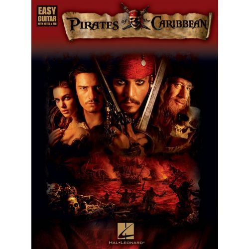 HAL LEONARD PIRATES OF THE CARIBBEAN FOR EASY GUITAR WITH - GUITAR TAB