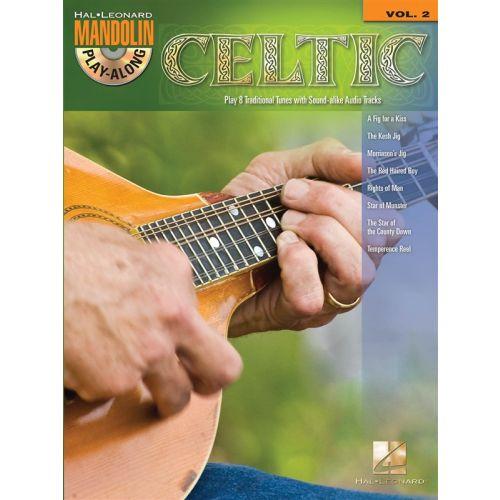 HAL LEONARD MANDOLIN PLAY ALONG VOLUME 2 CELTIC MANDOLIN + CD - MANDOLIN