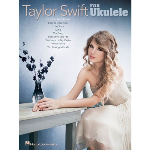 HAL LEONARD SWIFT TAYLOR FOR UKULELE - UKULELE