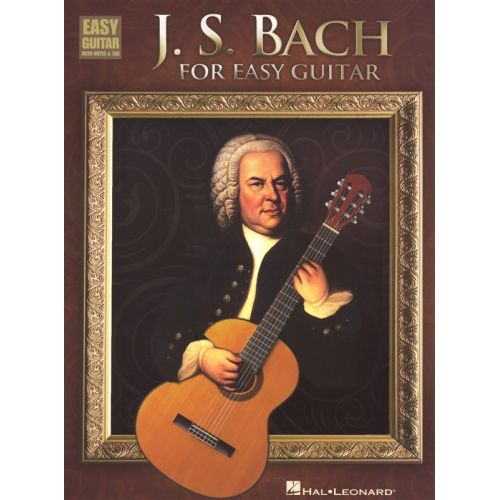 HAL LEONARD BACH J.S. FOR EASY GUITAR - GUITAR