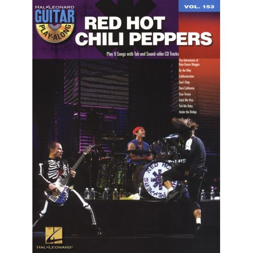 Hal Leonard Guitar Play Along Volume 153 Red Hot Chili Peppers