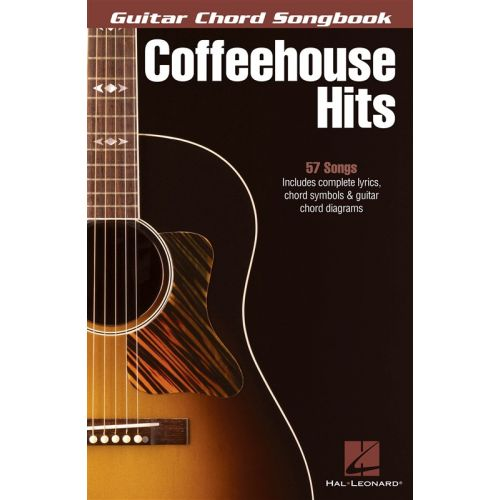 HAL LEONARD COFFEEHOUSE HITS GUITAR CHORD SONGBOOK - LYRICS AND CHORDS