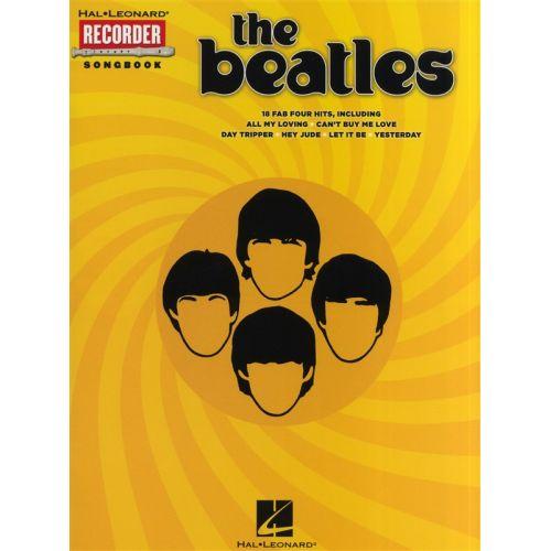 HAL LEONARD BEATLES RECORDER SONGBOOK - RECORDER