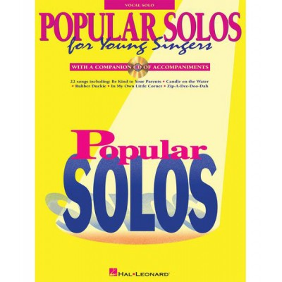HAL LEONARD POPULAR SOLOS FOR YOUNG SINGERS - VOICE