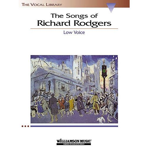 HAL LEONARD THE SONGS OF RICHARD RODGERS - LOW VOICE