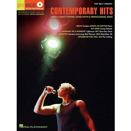HAL LEONARD PRO VOCAL VOLUME 3 CONTEMPORARY HITS MENS EDITION VOICE + CD - VOICE
