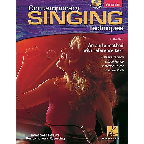 HAL LEONARD CONTEMPORARY SINGING TECHNIQUES WOMEN'S EDITION - VOICE