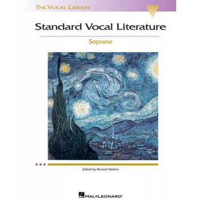 HAL LEONARD RICHARD WALTERS - STANDARD VOCAL LITERATURE - SOPRANO + AUDIO ONLINE