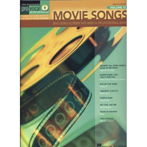 HAL LEONARD PRO VOCAL VOL.30 - MOVIE SONGS + CD