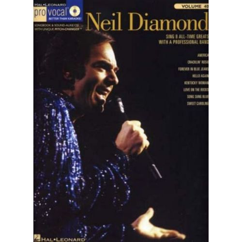 HAL LEONARD DIAMOND NEIL - PRO VOCAL VOL.40 + CD