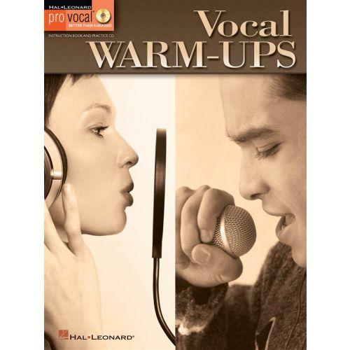 HAL LEONARD PRO VOCAL VOCAL WARM UPS VOICE + CD - VOICE