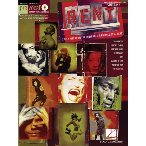 HAL LEONARD RENT - WOMEN / MEN EDITION V. 3 - VOICE