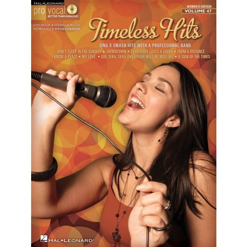 HAL LEONARD TIMELESS HITS - WOMEN'S EDITION+ CD - MELODY LINE, LYRICS AND CHORDS