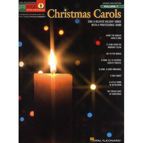 HAL LEONARD CHRISTMAS CAROLS - WOMEN/MEN EDITION+ CD - 7 - VOICE