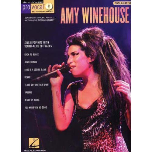 HAL LEONARD PRO VOCAL VOL.55 AMY WINEHOUSE + CD