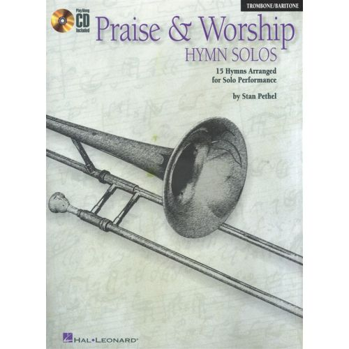 HAL LEONARD INSTRUMENTAL PLAY-ALONG PRAISE AND WORSHIP HYMN SOLOS TBN + CD - 1 - BARITONE