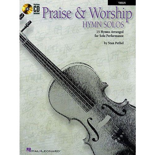 HAL LEONARD INSTRUMENTAL PLAY-ALONG PRAISE AND WORSHIP HYMN SOLOS + CD - 1 - VIOLIN