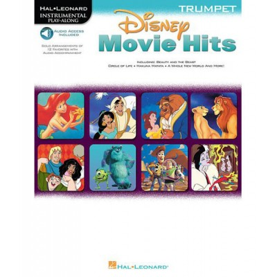 HAL LEONARD DISNEY MOVIE HITS - TRUMPET