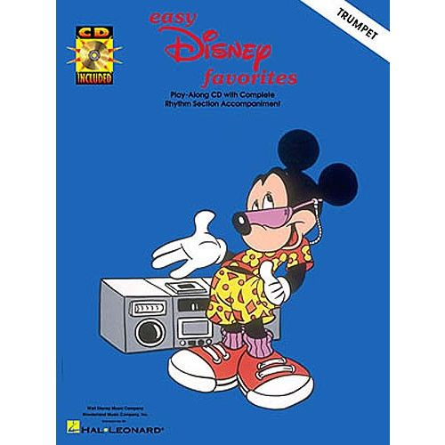 HAL LEONARD EASY DISNEY FAVORITES - TRUMPET