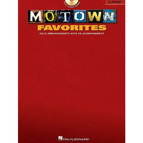 HAL LEONARD MOTOWN FAVORITES + CD - CLARINET