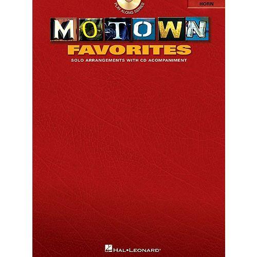 HAL LEONARD MOTOWN FAVORITES + CD - HORN