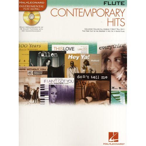 HAL LEONARD INSTRUMENTAL PLAY ALONG - CONTEMPORARY HITS + CD - FLUTE