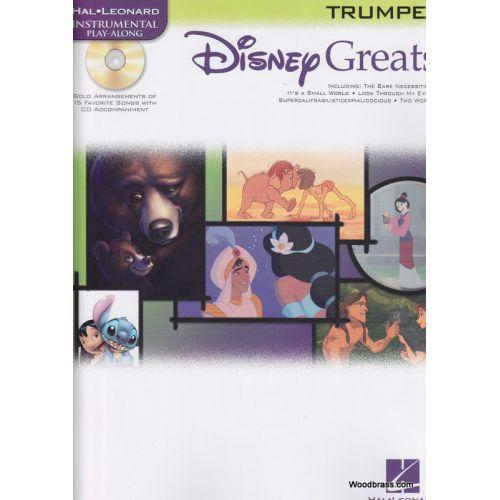 HAL LEONARD DISNEY GREATS TRUMPET + CD