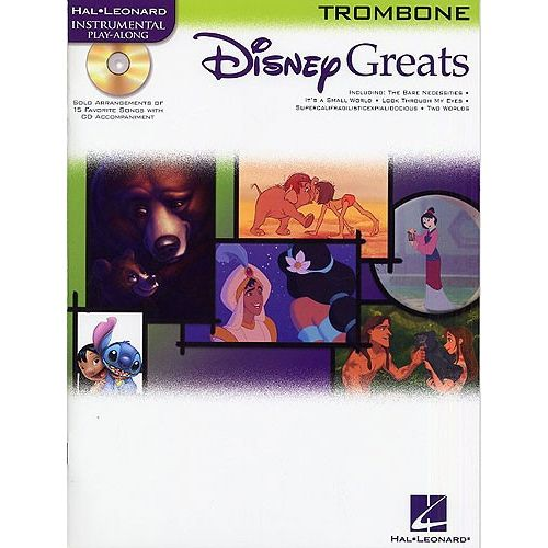 HAL LEONARD DISNEY GREATS + CD - TROMBONE