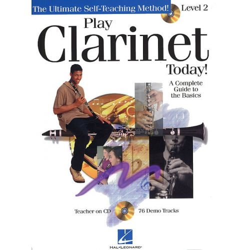 HAL LEONARD PLAY CLARINET TODAY! LEVEL 2 + CD - CLARINET