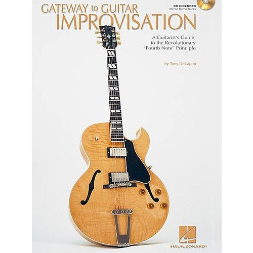 HAL LEONARD GATEWAY TO GUITAR IMPROVISATION + CD - GUITAR