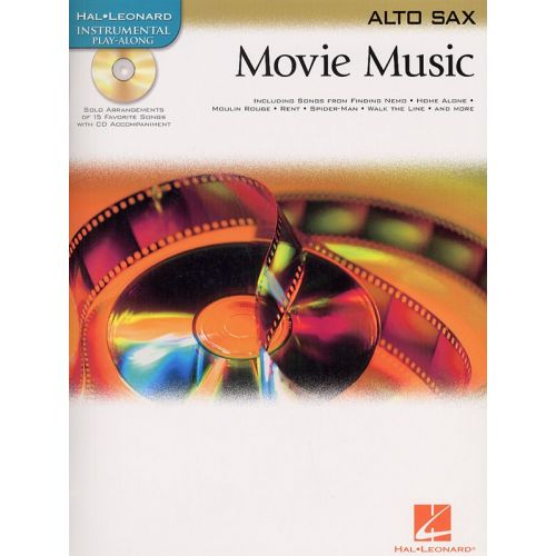 HAL LEONARD MOVIE MUSIC - ALTO SAXOPHONE