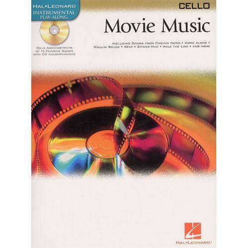 HAL LEONARD MOVIE MUSIC - CELLO + CD - CELLO