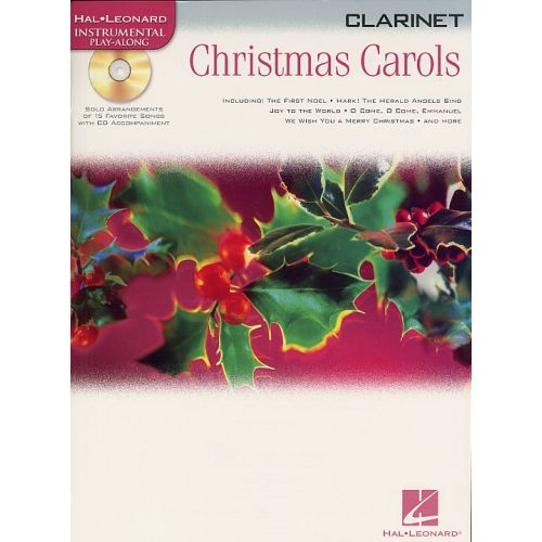 HAL LEONARD HAL LEONARD INSTRUMENTAL PLAY-ALONG CHRISTMAS CAROLS - CLARINET
