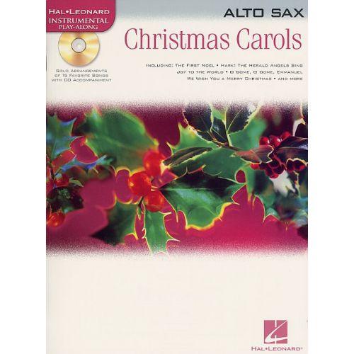 HAL LEONARD HAL LEONARD INSTRUMENTAL PLAY-ALONG CHRISTMAS CAROLS - ALTO SAXOPHONE