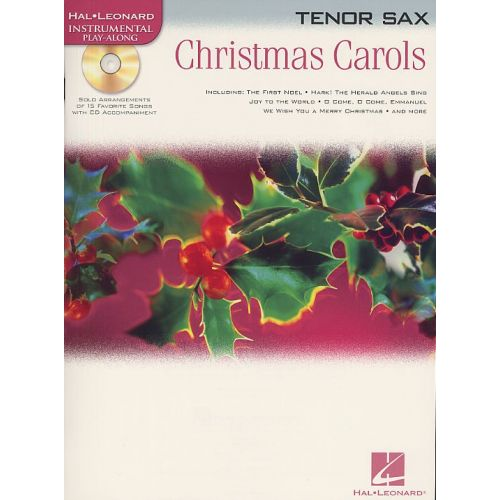 HAL LEONARD HAL LEONARD INSTRUMENTAL PLAY-ALONG CHRISTMAS CAROLS - TENOR SAXOPHONE