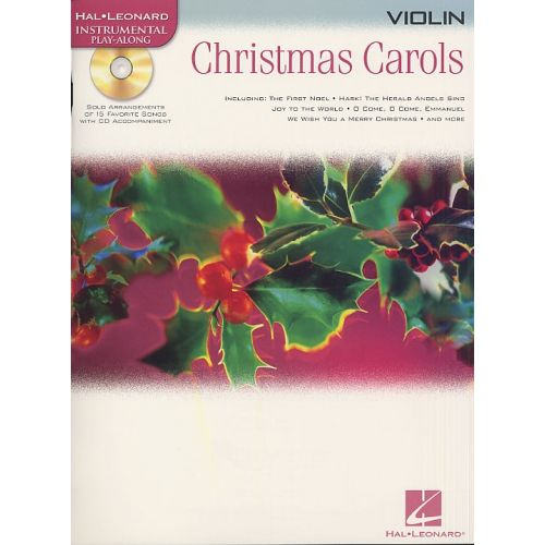 HAL LEONARD HAL LEONARD INSTRUMENTAL PLAY-ALONG CHRISTMAS CAROLS - VIOLIN