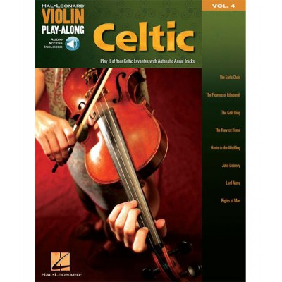 HAL LEONARD VIOLIN PLAY-ALONG VOL.4 CELTIC