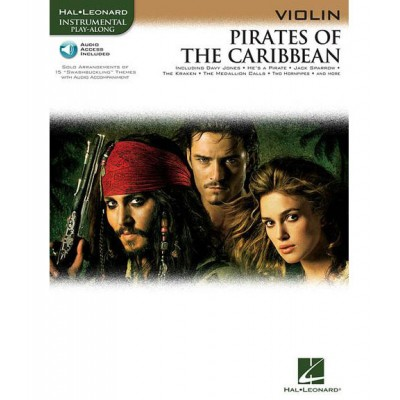 HAL LEONARD KLAUS BADELT - PIRATES OF THE CARIBBEAN + MP3 - VIOLIN