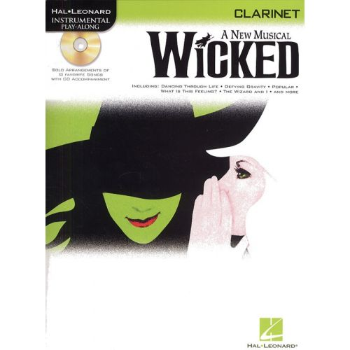 HAL LEONARD INSTRUMENTAL PLAY-ALONG WICKED + CD - CLARINET