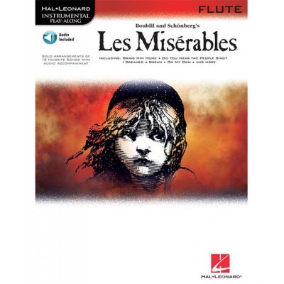 HAL LEONARD INSTRUMENTAL PLAY ALONG LES MISERABLES FLUTE CD