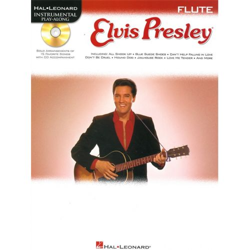 HAL LEONARD INSTRUMENTAL PLAY ALONG - ELVIS PRESLEY + CD - FLUTE