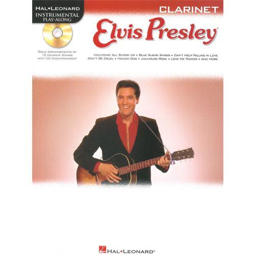 HAL LEONARD INSTRUMENTAL PLAY ALONG - ELVIS PRESLEY + CD - CLARINET
