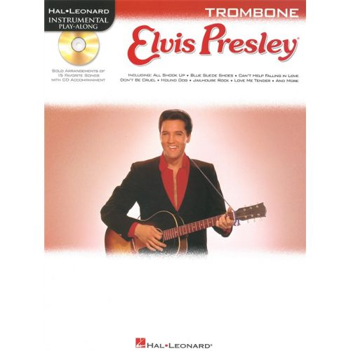 HAL LEONARD INSTRUMENTAL PLAY ALONG - ELVIS PRESLEY + CD - TROMBONE