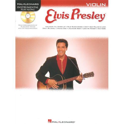 HAL LEONARD INSTRUMENTAL PLAY ALONG - ELVIS PRESLEY VIOLIN + CD - VIOLIN